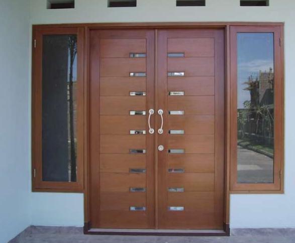 Contoh Model Pintu Rumah Minimalis 2 Pintu Terbaru ...