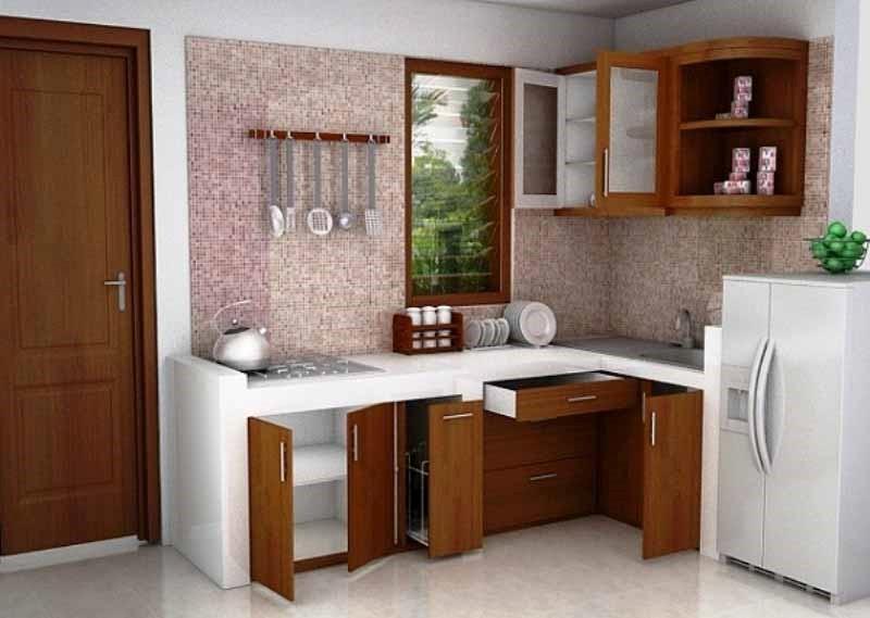 cara membuat desain dapur minimalis sederhana