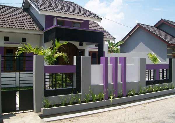 Beberapa Contoh Pagar Rumah Minimalis Terbaru | Kumpulan ...
