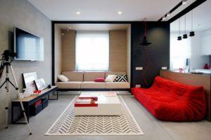 Desain Ruang Keluarga Minimalis Sederhana 4