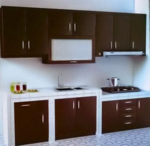 Kitchen Set Minimalis Dengan Model Lurus