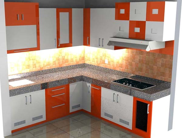Model kitchen set minimalis modern dan murah untuk dapur for Model kitchen set sederhana