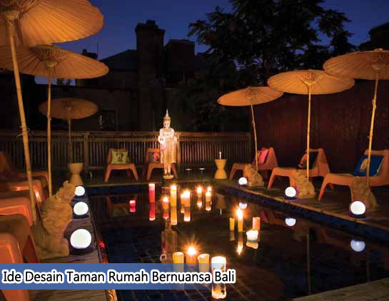 Ide Desain Taman Rumah Bernuansa Bali