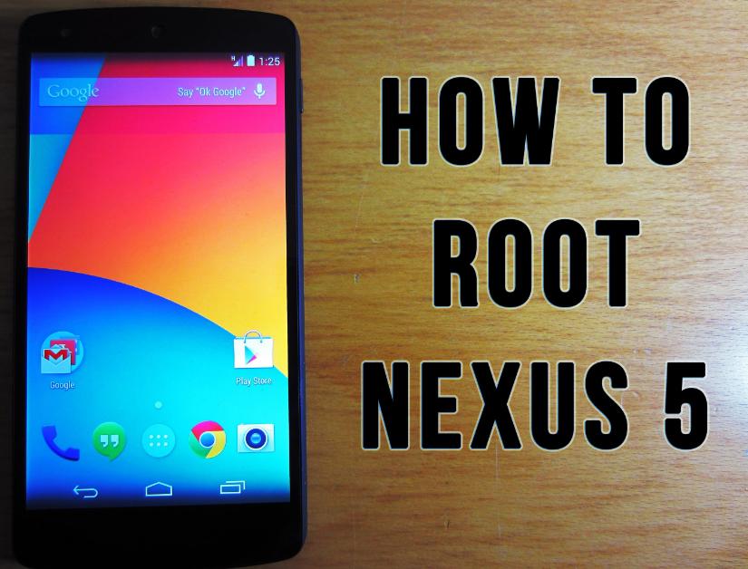 Cara Root HP Nexus 5 dengan Mudah