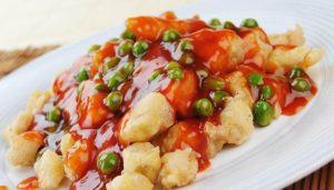 resep masakan ayam goreng tepung saus asam manis