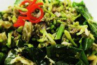 resep masakan tumis bunga pepaya khas manado