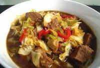 resep masakan tongseng kambing khas solo