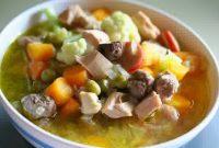 resep sup bakso gurih dan sedap
