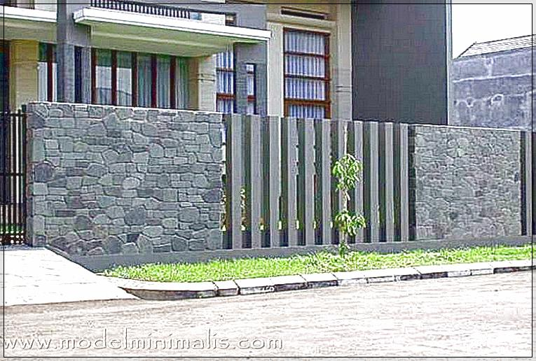 Pagar Batu Alam Rumah Minimalis Type 36 Yang Kuat Dan Aman Kumpulan Cara Praktis