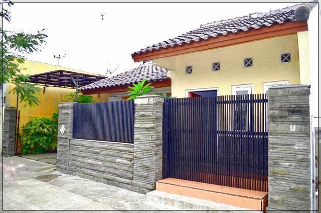Pagar Rumah Minimalis Lebar 6 Meter Type 1 Lantai | Kumpulan Cara Praktis