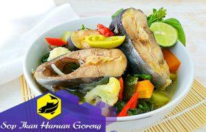 Sop Ikan Haruan Goreng Yang Enak