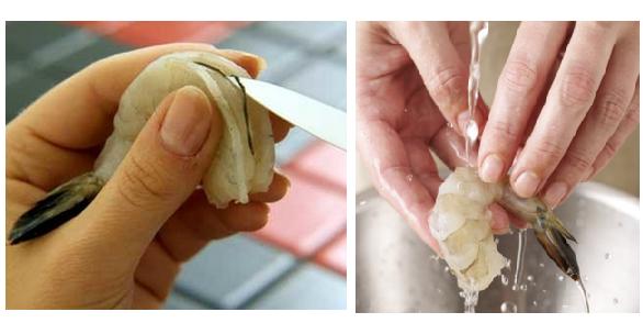 cara membersihkan udang agar tidak bau amis